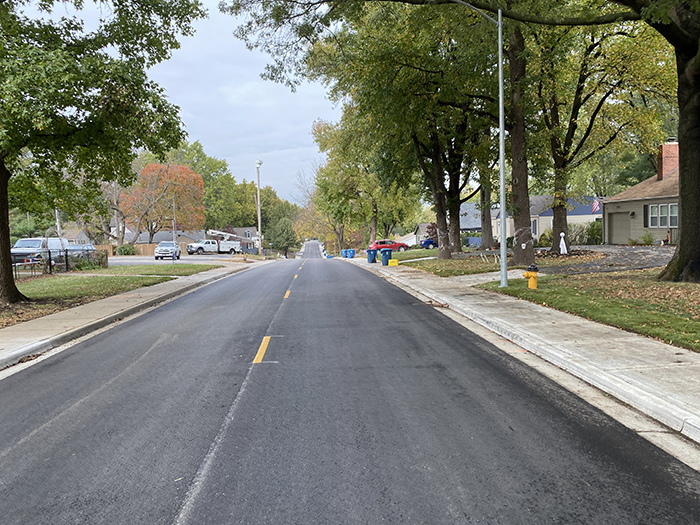 prairie village paving program